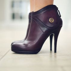 Gucci purple leather boots. Bought on sale in 2007 or 2008. Come with  original 92c8dd167