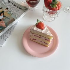 Cute Desserts, Dessert Recipes, Kawaii Cooking, Cafe Food, Aesthetic Food, Pretty Cakes, I Love Food, Food Pictures, Sweet Treats