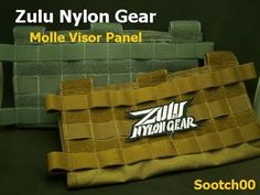 Zulu Nylon Gear: Molle Visor Panel - I need this for my Trips. A Green one… Jeep Xj Mods, Jeep Zj, Car Camping Essentials, Camping Gear, Molle Gear, Tactical Gear, New Defender, Land Rover Defender, Seat Belt Cutter