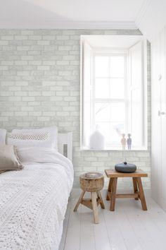 Behang baksteen / Wallpaper bricks collection More Than Elements - BN Wallcoverings.