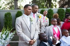 Groom waiting for the Bride to arrive The Bethwood Garden by Visual Masters