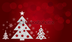 Christmas tree design art vector — Image vectorielle Juliedeshaies © #57339237