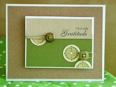 Filled with Gratitude Card
