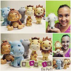 Safari ♡ #safari #elefante #macaco #girafa #leao #hipopotamo #hippo…