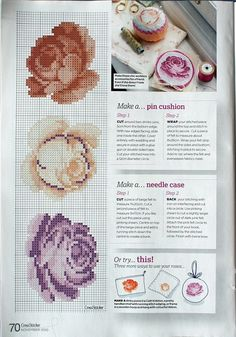 Gallery.ru / Фото #78 - разные цветочные схемы - irisha-ira