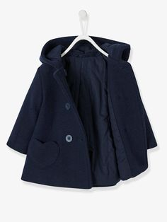 7ab15df379c8d An unbeatable classic! An coat for the baby with a very warm woollen  effect