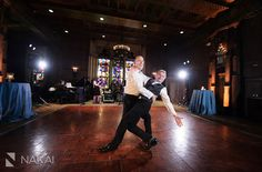 The two grooms hit the dance floor | InterContinental Chicago | Nakai Photography