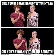 Welcome to the Christian pickup lines we wish someone would try.