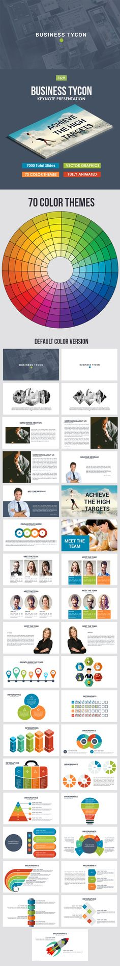 Business Tycon Keynote Template
