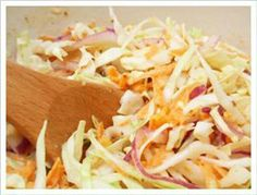 Mustard Slaw Recipe -----  *Coach approved for ALL phases.  (Be mindful of oil and veggie servings)