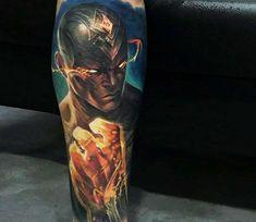 Lee Sin Godfist tattoo by Victor Zetall