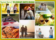 Bucket List of 18 Cheap Date Ideas