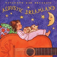 Acoustic Dreamland CD  Doze off into dreamland with this collection of classic and contemporary acoustic songs. The eleven songs on this CD are accompanied by a mini storybook for parents to read at bedtime.