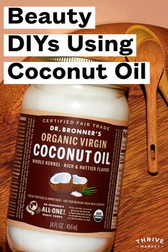 With its rough, fibrous exterior, a coconut is an inconspicuous package for something so incredibly beautifying. Diy Beauty Essentials, Makeup Tips, Beauty Makeup, Health And Beauty, Coconut Oil, Natural Beauty, Remedies, Exterior, Amazing