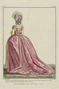 """Dress """"A la Turque"""". 1780"""