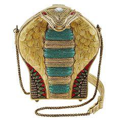 Mary Frances Disney Live Action Aladdin Mesmerize Crossbody Handbag, Gold
