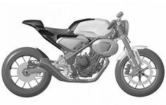 Honda 300TT Racer production variant patent sketches leak
