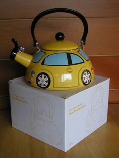 Volkswagen VW Volkswagen New Beetle Kettle