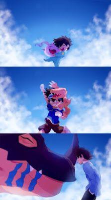 Digimon Dragon's Shadow: Tai e Agumon