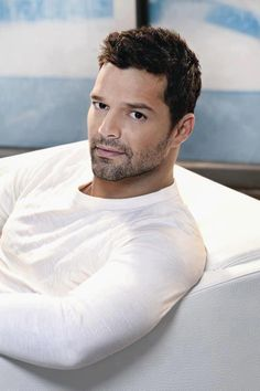 Ricky Martin & I know. But still...always there when I need a little pick me up!! Love Ricky!!