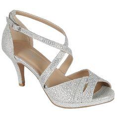 8c287c75da858 Delicacy Excited-90 Women Party Evening Dress Bridal Wedding Rhinestone  Platform Kitten Low Heel Sandal