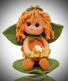 October Baby Fairy by fairiesbynuria on Etsy, $12.95