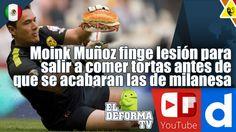 15 Moink Muñoz finge lesión para salir a comer tortas antes de que se ac...