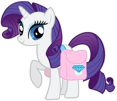 Mlp Rarity, My Little Pony Rarity, Sweetie Belle, Simple Backgrounds, My Little Pony Friendship, Equestria Girls, Smurfs, Sonic The Hedgehog, Clip Art