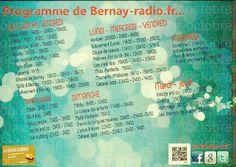 Programmes de Bernay-radio.fr...