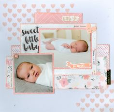 Sweet Little Baby - Crate Paper - Little You Collection