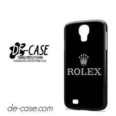 Rolex Logo DEAL-9298 Samsung Phonecase Cover For Samsung Galaxy S4 / S4 Mini