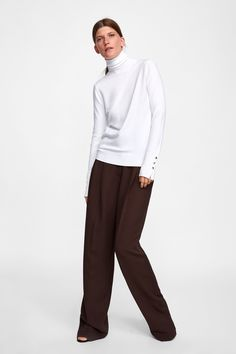 1dd405a6998aee ZARA - WOMAN - BASIC TURTLENECK SWEATER Look Casual Chic