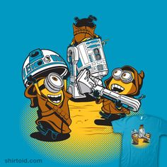 """""""Despicable Jawas"""" by DJKopet. Who knew the Jawa were actually minions?"""