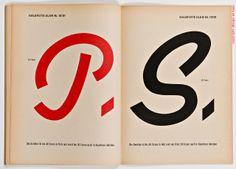 Plakatschriften, 1950s. Stempel AG, Frankfurt