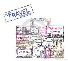 sellos viajes maletas - Buscar con Google