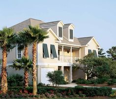 Eplans Low Country House Plan - Classic Seaboard Details - 2977 Square Feet and 5 Bedrooms(s) from Eplans - House Plan Code HWEPL04835