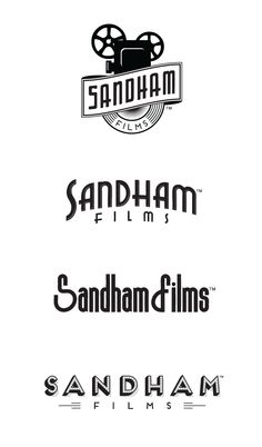 Sandham Films logo design for Cleveland Ohio video production company