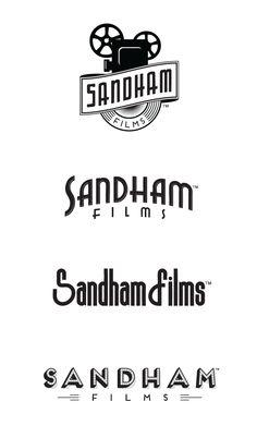 Sandham Films logo design for Cleveland Ohio video production company