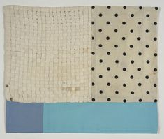 Louise Bourgeois...sewing together fabric with history