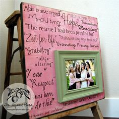 Sisters Wedding Frame Maid of Honor Bridesmaid by thesugaredplums Maid Of Honour Gifts, Maid Of Honor, Bride Gifts, Wedding Gifts, Wedding Ideas, Best Friend Picture Frames, Adoption Gifts, Personalized Picture Frames, Sister Wedding