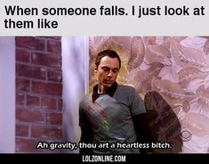 When someone falls… #lol #haha #funny