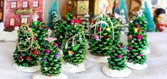 5 Manualidades hechas con piñas para decorar en Navidad