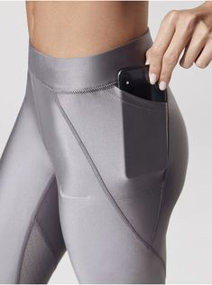 W Nike Speed Cool Tight Length Leggings in Gunsmoke Womens Workout Outfits, Sporty Outfits, Nike Outfits, Workout Attire, Workout Wear, Running Leggings, Women's Leggings, Sport Fashion, Fitness Fashion