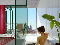 Het micro-appartement in de stad - XS Deluxe Wonderwall