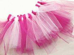 Tutoriel DIY: Faire un tutu en tulle sans couture via DaWanda.com