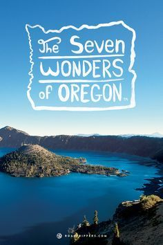 Take a road trip through Oregon and experience the gorgeous landscapes for yourself. For when I visit my brother!