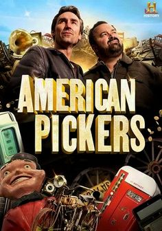 American Pickers (2010) Explore American scenery and history in this engaging series that follows canny businessmen and antiques hunters Mike Wolfe and Frank Fritz as they search through barns, backyards and attics for long-forgotten junk that turns out to be treasure.