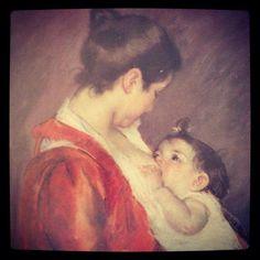 La douceur du regard de son enfant pendant la tétée. #allaitement_maternel