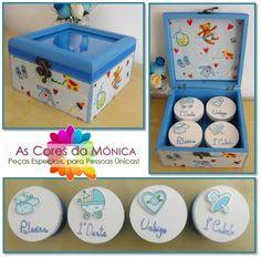 Decoupage  Baby Box Memories