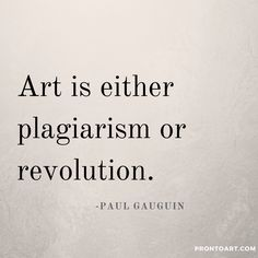 Gauguin, sadly one of the post-impressionist masters under-appreciated until after his death. Visit us at prontoart.com for beautiful inspired art!